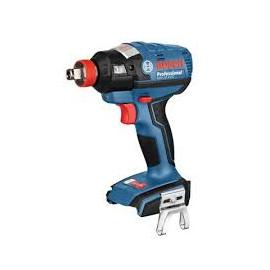 """Гайковерт Bosch акумулаторен ударен безчетков без батерия и зарядно 18 V, 185 Nm, 1/2"""", GDX 18 V-EC 0 601 9G4 204"""