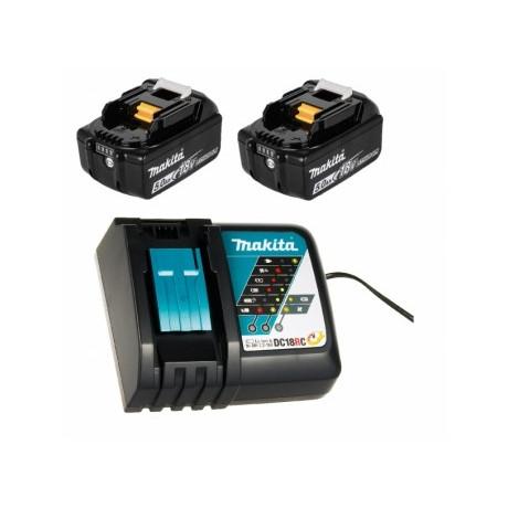 Батерия Makita Li-Ion комплект със зарядно устройство 18 V, 5 Ah, 2 бр., BL1850B Set