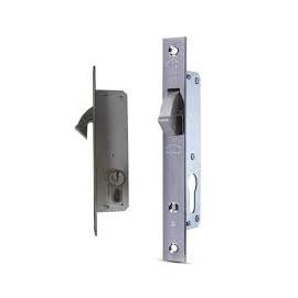 Брава Daf Kilit секретна за плъзгаща се врата с патрон 130х36х16 мм, 20 мм, 513.20