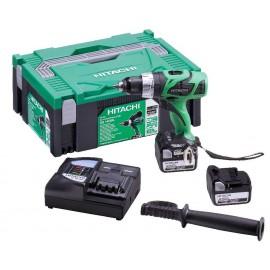 Винтоверт акумулаторен Hitachi DS14DBL /14,4 V, 5 Аh/