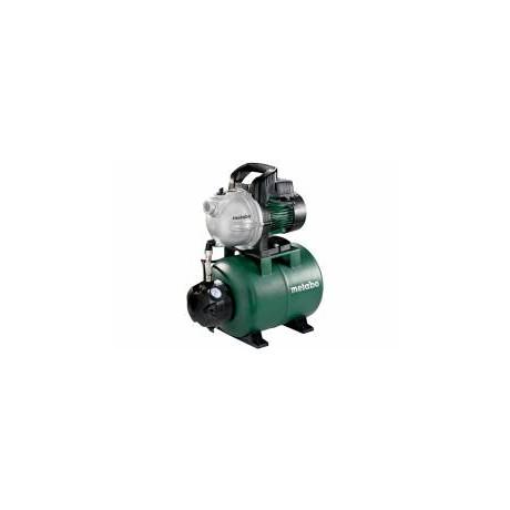 Хидрофорна уредба Metabo с цилиндричен съд 3.3 м3/ч, 45 м, 8 м, 24 л, HWW 3300/25 G