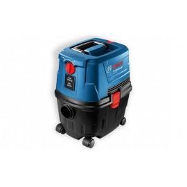 Bosch GAS 15, Прахосмукачка електрическа за сухо и мокро почистване 1100 W, 1980 л/мин, 10 л