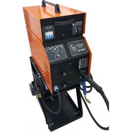 Инверторен заваръчен апарат COMBO WELD E 500 А трифазен Вики Б /ролки 15 кг.-20 кг./
