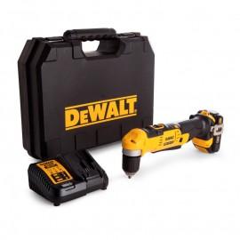 DeWALT DCD740C1, Винтоверт акумулаторен 1-скоростен ъглов 18 V, 1.5 Ah, 0-650 об./мин, 33 Nm