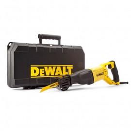 Трион DeWALT саблен електрически с плавно регулиране 1100 W, 0-2800 хода/мин, 29 мм, DWE305PK
