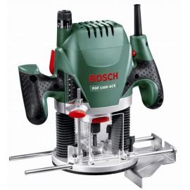 Bosch POF 1400 ACE, Оберфреза ръчна 1400 W, 11 000-28 000 об./мин, ф 6-8 мм