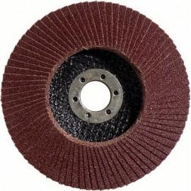 Диск ламелен от шкурка за шлайфане на метал 125x22.23 мм, P40 Bosch Standard for Metal X431
