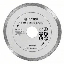 Диск диамантен за сухо рязане на керамика Bosch /ф110/