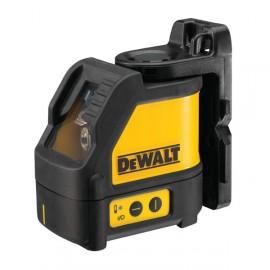 DeWALT DW088K, Нивелир лазерен линеен с 2 лъча 15 м, 0.3 мм/м