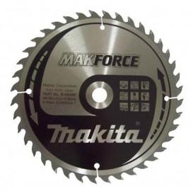 Makita Makforce, Диск метален HM за рязане на дърво напречно и надлъжно подаване ф 190х16х2.2 мм, z 40