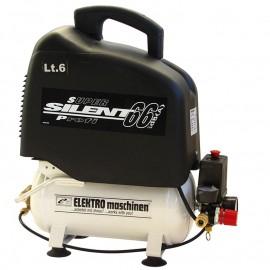 Компресор с електродвигател безмаслен 8 bar, 6 л, 0.94 к. с., 230 V REM Power EL 140/8/6