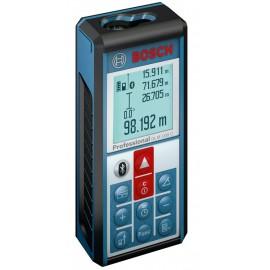 Bosch GLM 100 C, Ролетка лазерна с LCD дисплей противоударна 0.05-100 м, +/-1.5 мм