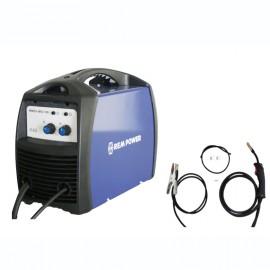 Апарат REM Power заваръчен MIG/MAG с телоподаващо у-во стомана 0.6-1 мм, 180 A, 230 V, WMEm MIG 180