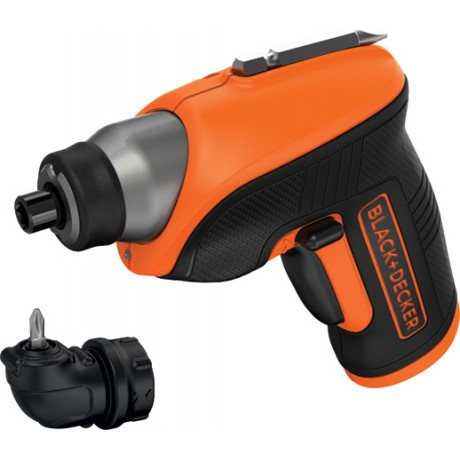 Отвертка акумулаторна к-т Black&Decker CS3652LC /3,6 V, 1,5 Аh/