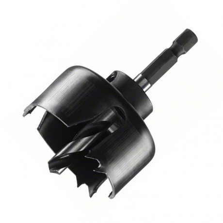 Боркорона за дърво с държач комплект Bosch /ф48/