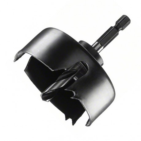 Боркорона за дърво с държач комплект Bosch /ф65/