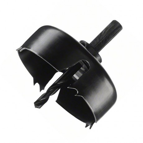 Боркорона за дърво с държач комплект Bosch /ф75/