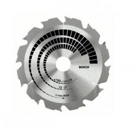 Bosch Construct Wood, Диск метален HM за рязане на дърво ф 180х30х2.6 мм, z 12
