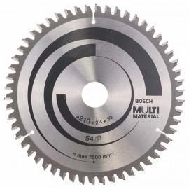 Диск циркулярен за алуминий Bosch /210, 30, 2.5, z80/