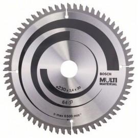 Диск циркулярен за алуминий Bosch /230, 30, 2.4, z64/