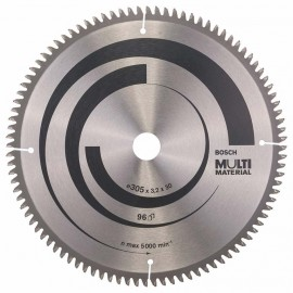 Диск циркулярен за алуминий Bosch /305, 30, 3.2, z80/