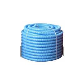 Гофрирана тръба ф23-синя х 50м