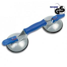 Вендуза двойна за стъкло Bohle BO 602.44BL /ф120 мм, 45 кг/