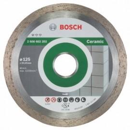 Диск диамантен за сухо рязане на керамика Bosch /ф125/ FRE ECO