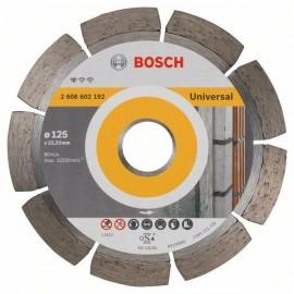 Диск диамантен за сухо и мокро рязане на тухли, бетонови изделия и керемиди Bosch /ф125/