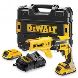 DeWALT DCF620D2K, Винтоверт акумулаторен 1-скоростен безчетков 18 V, 2 Ah, 0-4400 об./мин