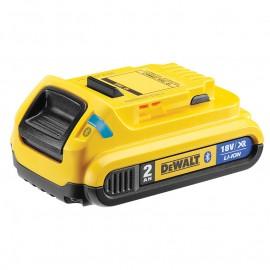 Батерия акумулаторна Li-Ion 18 V, 2.0 Ah с Bluetooth Dewalt DCB183B (XR)