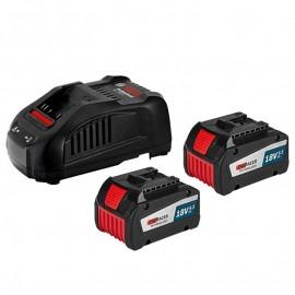 Батерия акумулаторна Li-Ion GBA 18 V, 6,3 Аh и зарядно устройство GAL 1880 CV Bosch