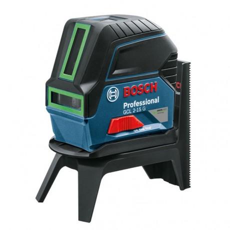 Нивелир лазерен линеен-точков Bosch GCL 2-15 G