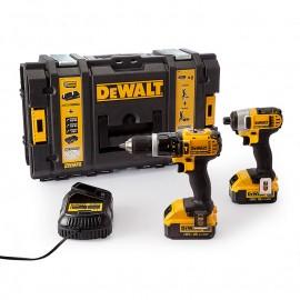 Комплект акумулаторни инструменти DeWALT DCK285M2