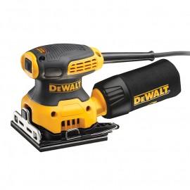 Виброшлайф DeWALT електрически с правоъгълна плоча 230 W, 108x115 мм, 28 000 хода/мин, DWE6411