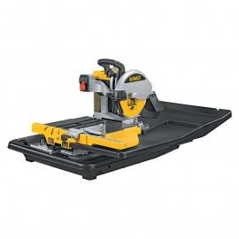 DeWALT D24000, Машина за рязане на строителни материали циркулярна 1600 W, 230 V, 4200 об./мин., ф 250 мм