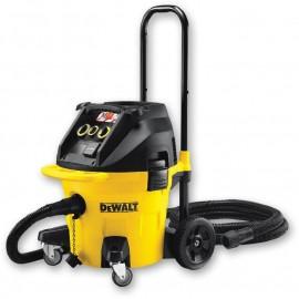Прахосмукачка електрическа за сухо и мокро почистване 1400 W, 4080 л/мин, 38 л DeWALT DWV902M