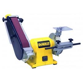 Шлайф DeWALT комбиниран с шмиргел 415 W, ф 150 мм, 715x45 мм, 2750 об./мин, DW755