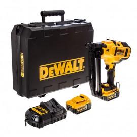 Такер акумулаторен DEWALT DCN660P2 /18 V, 5 Ah, 32-63 мм/
