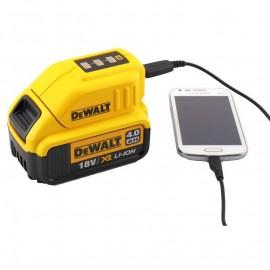 Адаптор за батерия USB DEWALT DCB090 /10.8-18 V/