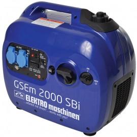 Генератор бензинов инверторен 2,00kW GSEm 2000 SBI Elektro maschinen
