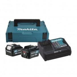 Makita , Батерия за електроинструменти Li-Ion комплект 10.8 V, 4.0 Аh, 2x BL1040B, DC10SA