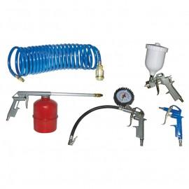 Комплект пневматични инструменти 5 части KIT 5S Elektro maschinen 9600210