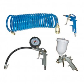 Комплект пневматични инструменти 4 части, KIT 4S Elektro maschinen 9600110