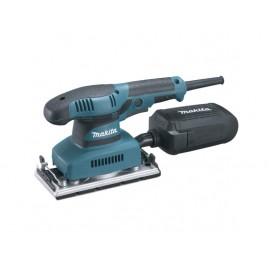 Виброшлайф електрически с правоъгълна плоча и плавно регулиране 190 W, 8000-22 000 вибр./мин, 93x185 мм, Makita BO3711
