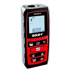 Ролетка лазерна противоударна SOLA Vector 80 /0.2-80 м, 1,5 mm/1 m/