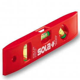 Нивелир пластмасов с магнит 20 см SOLA PTM 5 20