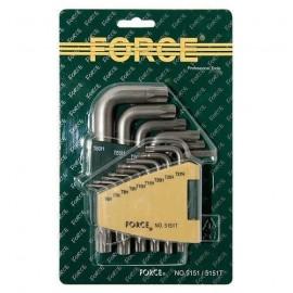 Ключове Г-обр.торкс к-т 15бр. 5151L Force