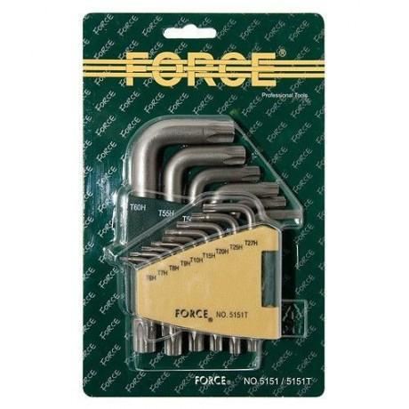 Ключове Г-обр.торкс к-т 15бр. Force