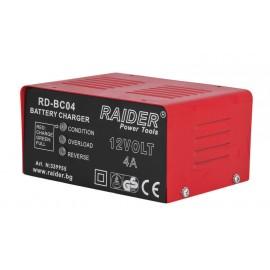 Зарядно за акумулатор RAIDER RD-BC04 /62W, 12V, 4A/